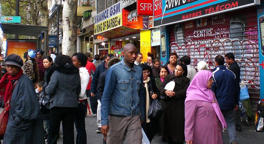 Barbès, France occupée.