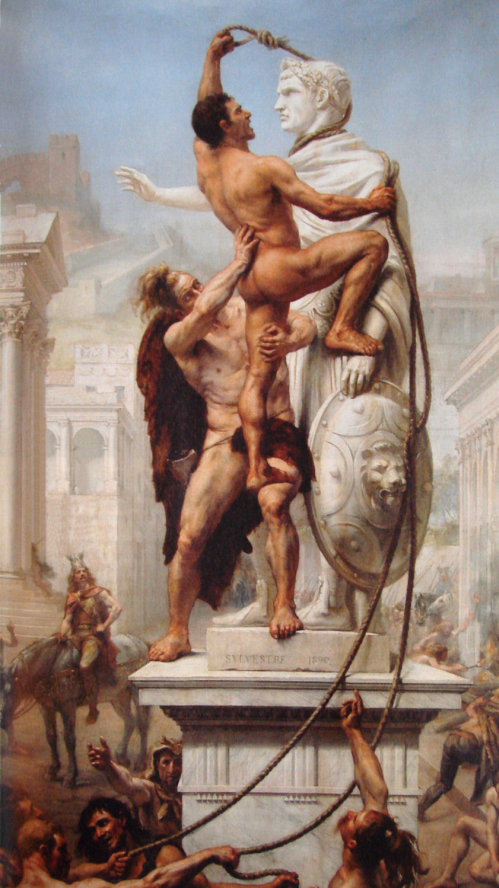 Le sac de Rome par les Barbares – Jean-Noël Sylvestre - 1890