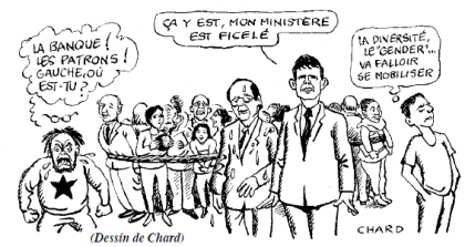 Aubry, Hamon, Filoche : le PS au bord de l'implosion