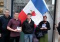 Lyon nationaliste présent pour défendre les « familles plumées »