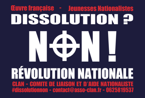 Dissolution ? Non ! Révolution nationale !