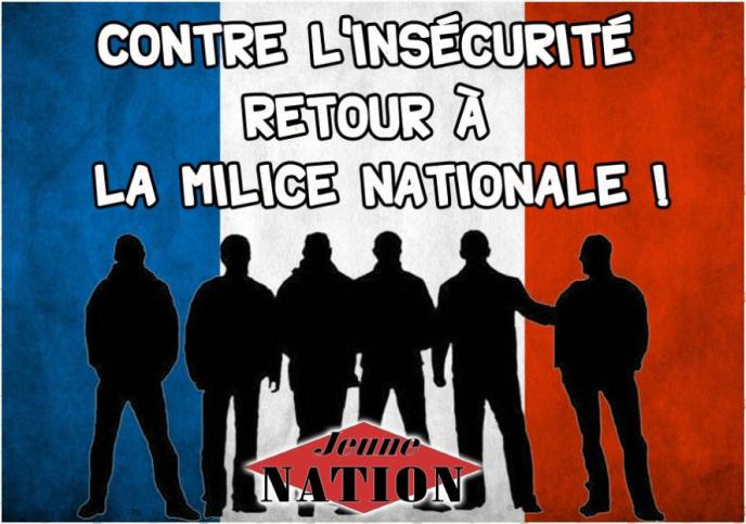 contre l'insécurité retour à la milice nationale24