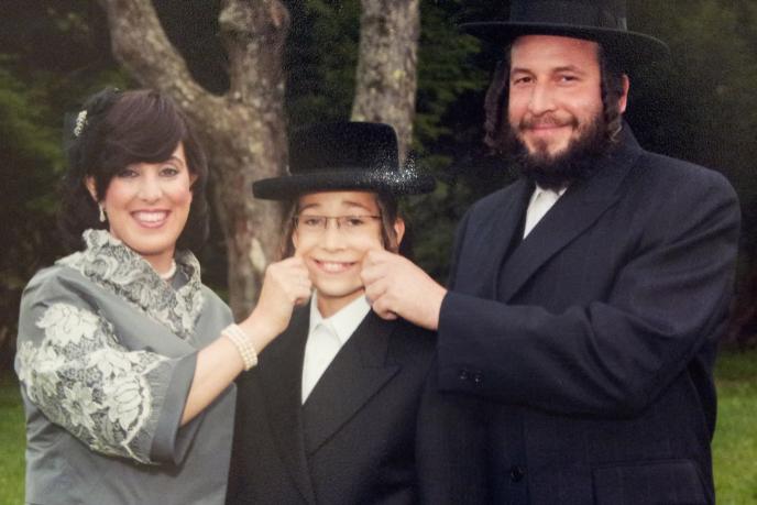 Menachem Stark-Bashie stark-their son.
