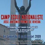 Camp école nationaliste Jeune Nation 2009 (4)