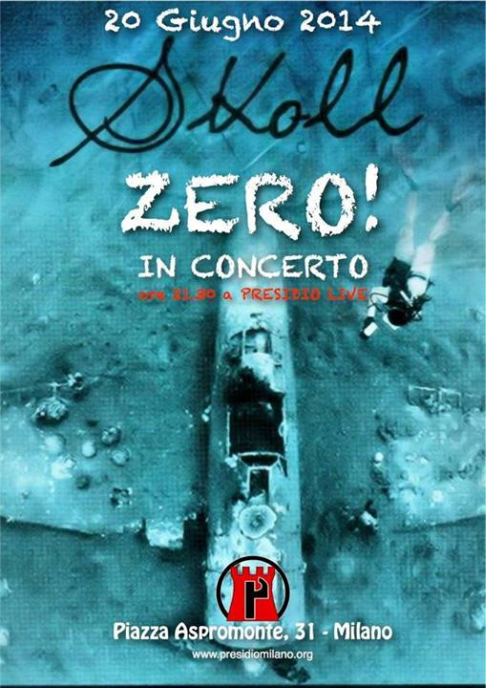 20 juin 2014, Milan-concert de Skoll et Zero