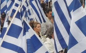 «J'appelle les Grecs à lutter pour abattre ce gouvernement antinational» N. Michaloliakos