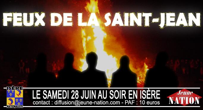 Samedi 28 juin en Isère : Feux de la Saint-Jean