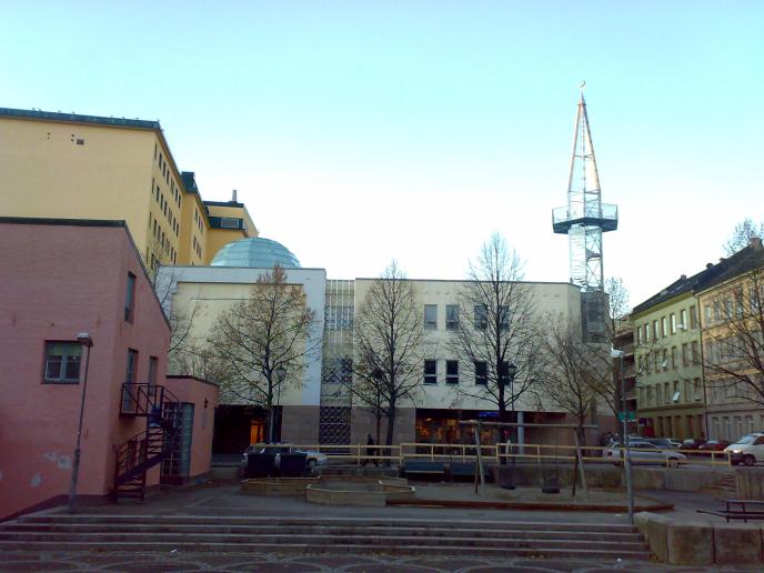 La mosquée-cathédrale à Oslo