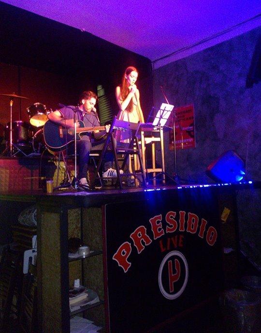 Concert de Marco & Giulia pour les victimes de la répression à Milan-04072014-