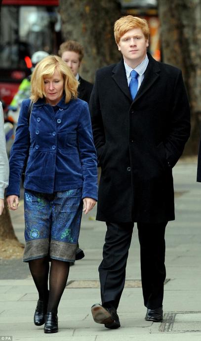 Henry Webster et sa mère.