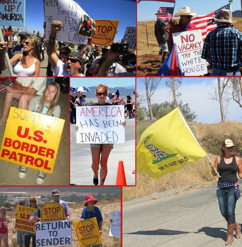 Des Américains se lèvent contre l'invasion