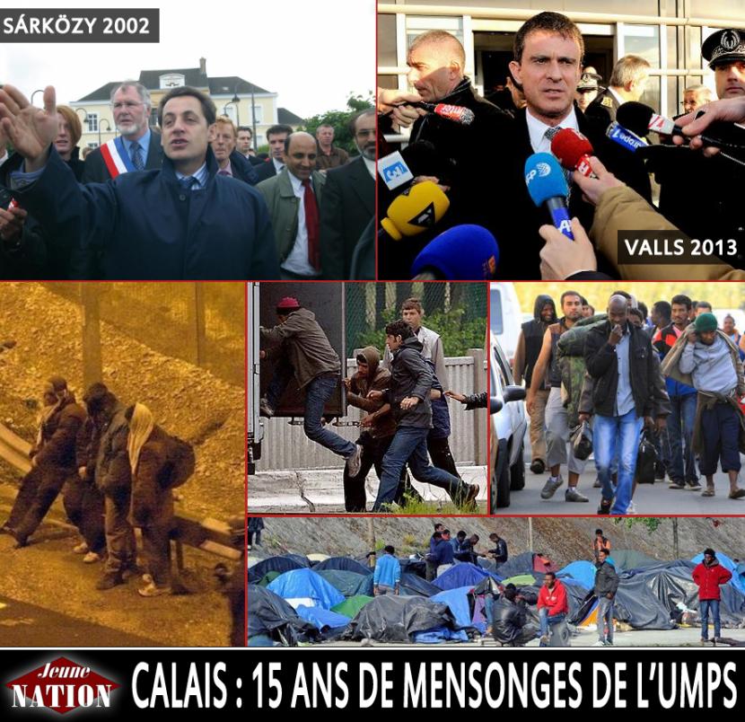 La police « perd la bataille » contre les étrangers à Calais