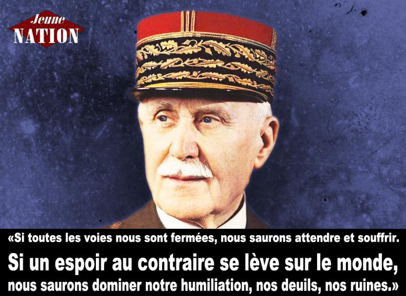 Pétition pour le transfert du corps du maréchal Pétain à Douaumont