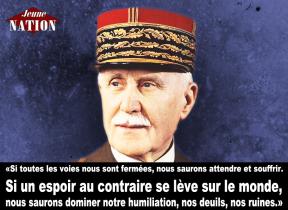 Discours prononcé lors de l'hommage des nationalistes au maréchal Pétain à Douaumont
