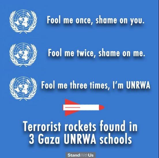 Type de visuel de propagande diffusé par « IUF »