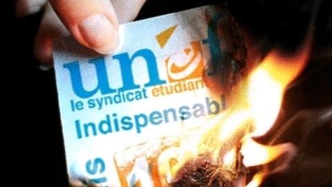 Contre les traitres et les corrompus : brûlons l'UNEF.