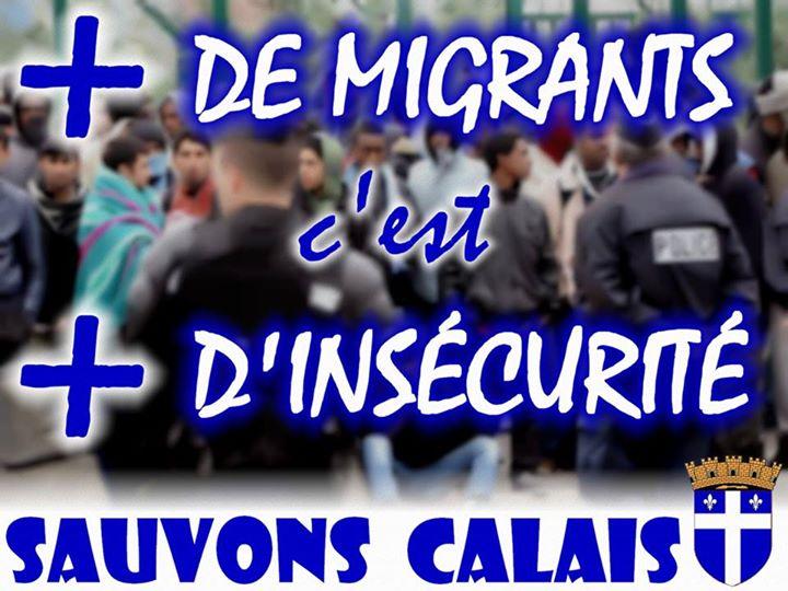 La justice d'occupation n'enquête pas sur les crimes des 'migrants' mais attaque Sauvons Calais