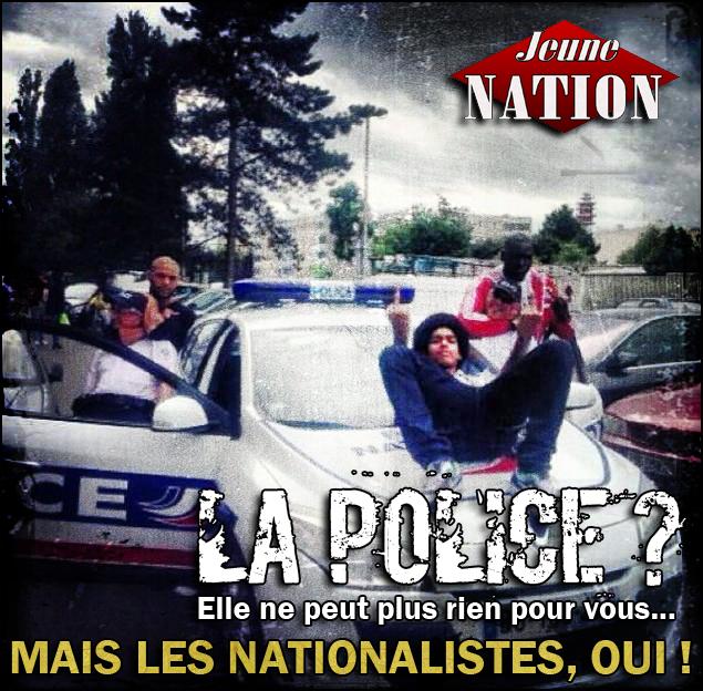 Black mob contre un cinéma de Perpignan