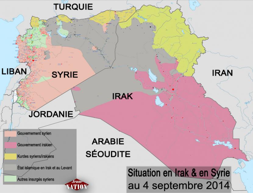 L'attaque contre l'État islamique en Irak se précise