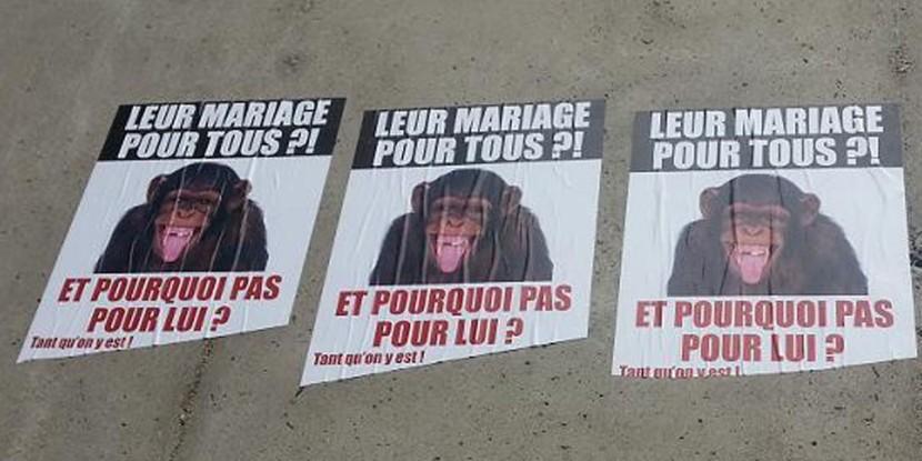 Affiches de défense du mariage à Saint-Étienne : diffamation et mensonges de la presse