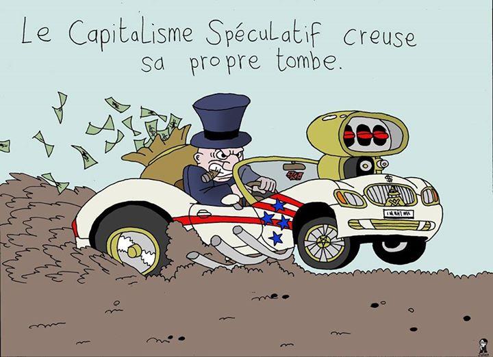L'Artiste mal pensant - Le capitalisme est une tombe