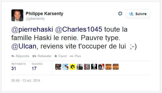 contre Haski, l'adjoint au maire de Neuilly Karsenty en appelle à Chelly