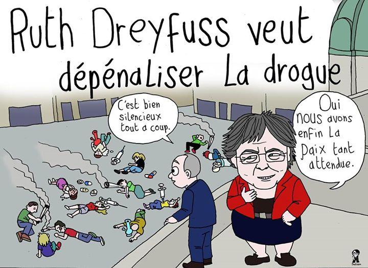 L'Artiste mal-pensant. La drogue pour détruire les peuples.  L'anti-Suisse ressemble furieusement à l'anti-France...