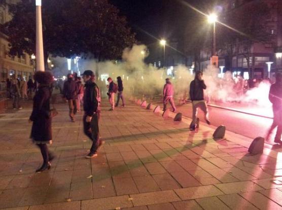 Violences à Nantes