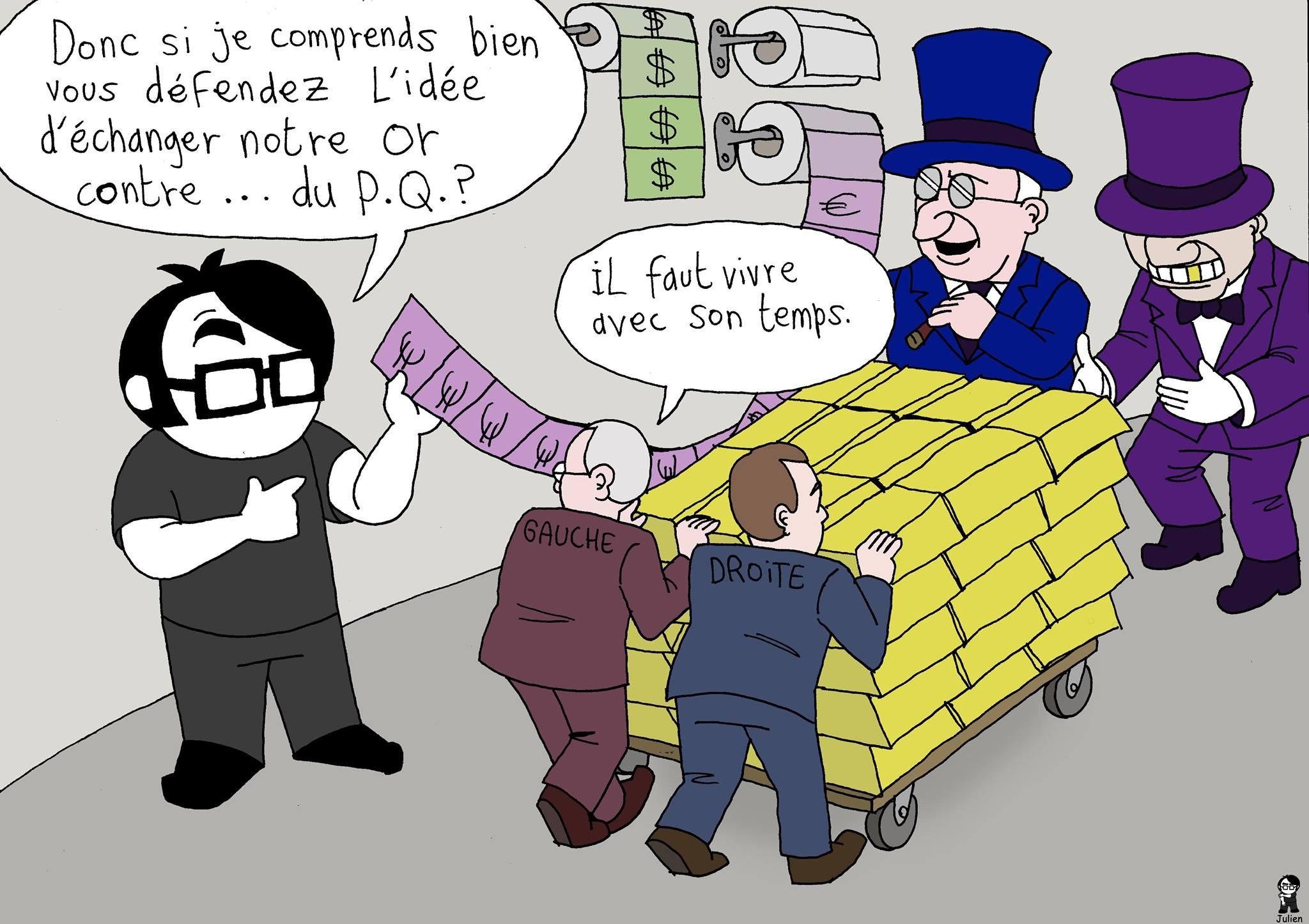 L'Artiste mal pensant - Papier monnaie