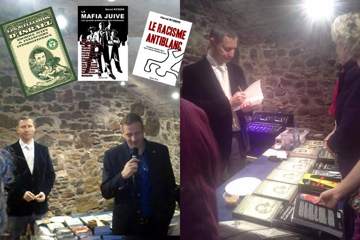 Hervé Ryssen invité de Lyon nationaliste