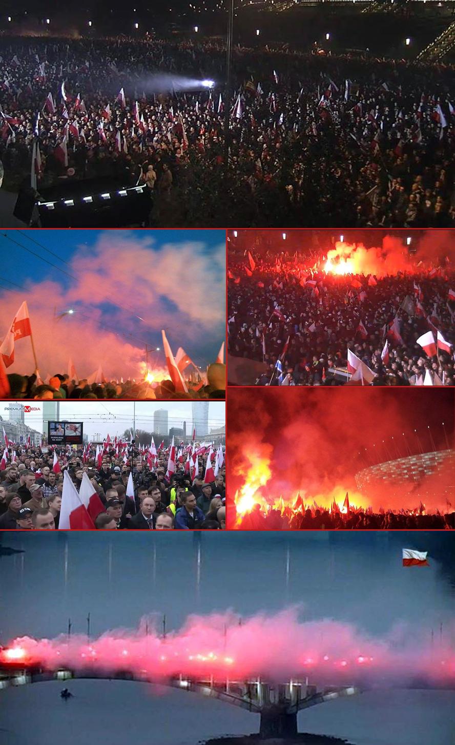 Pologne-Marche pour l'indépendance 2014-a