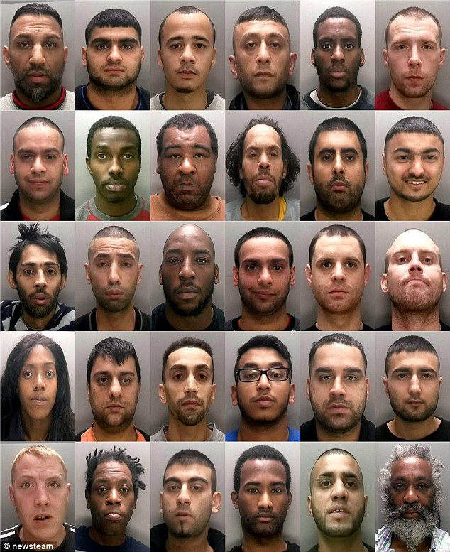 30 des 33 trafiquants.