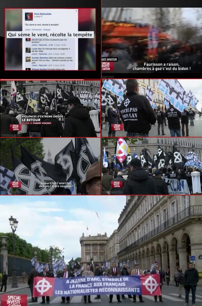 Canal+, la voix des antifas