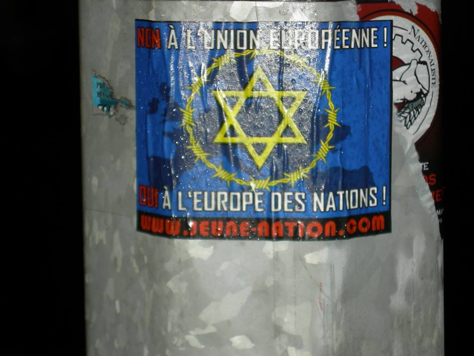 Sur les murs de Dieppe - Jeune nation s'affiche !