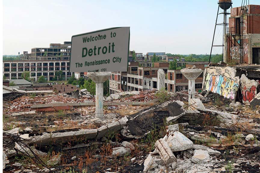Bienvenue à Détroit - ville de la renaissance