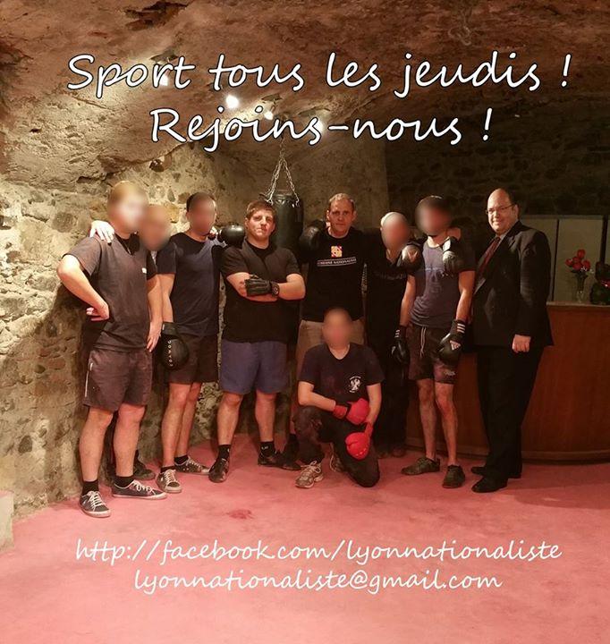 Lyon nationaliste - sport Benedetti Gabriac