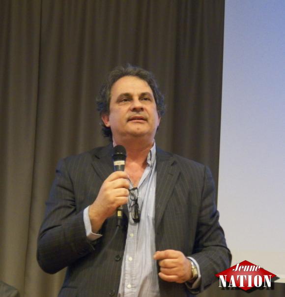 Forum de l'Europe: Roberto Fiore président de l'APF, Italie