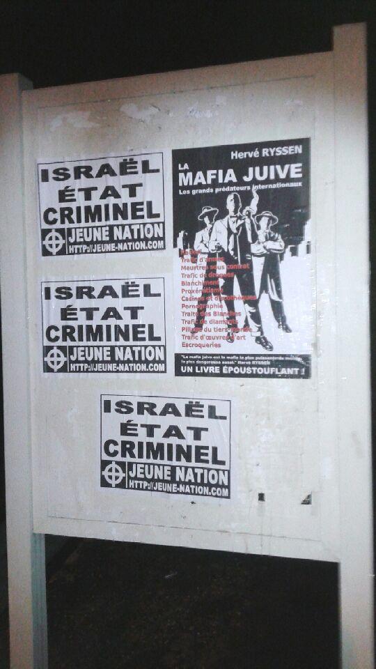 Collage du groupe Nice nationaliste le 6 décembre 2014.