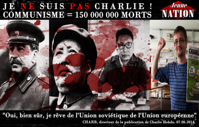 The reasons why we are not Charlie