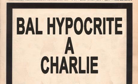 Journal spécial drame de l'invasion : tuerie à Charlie hebdo