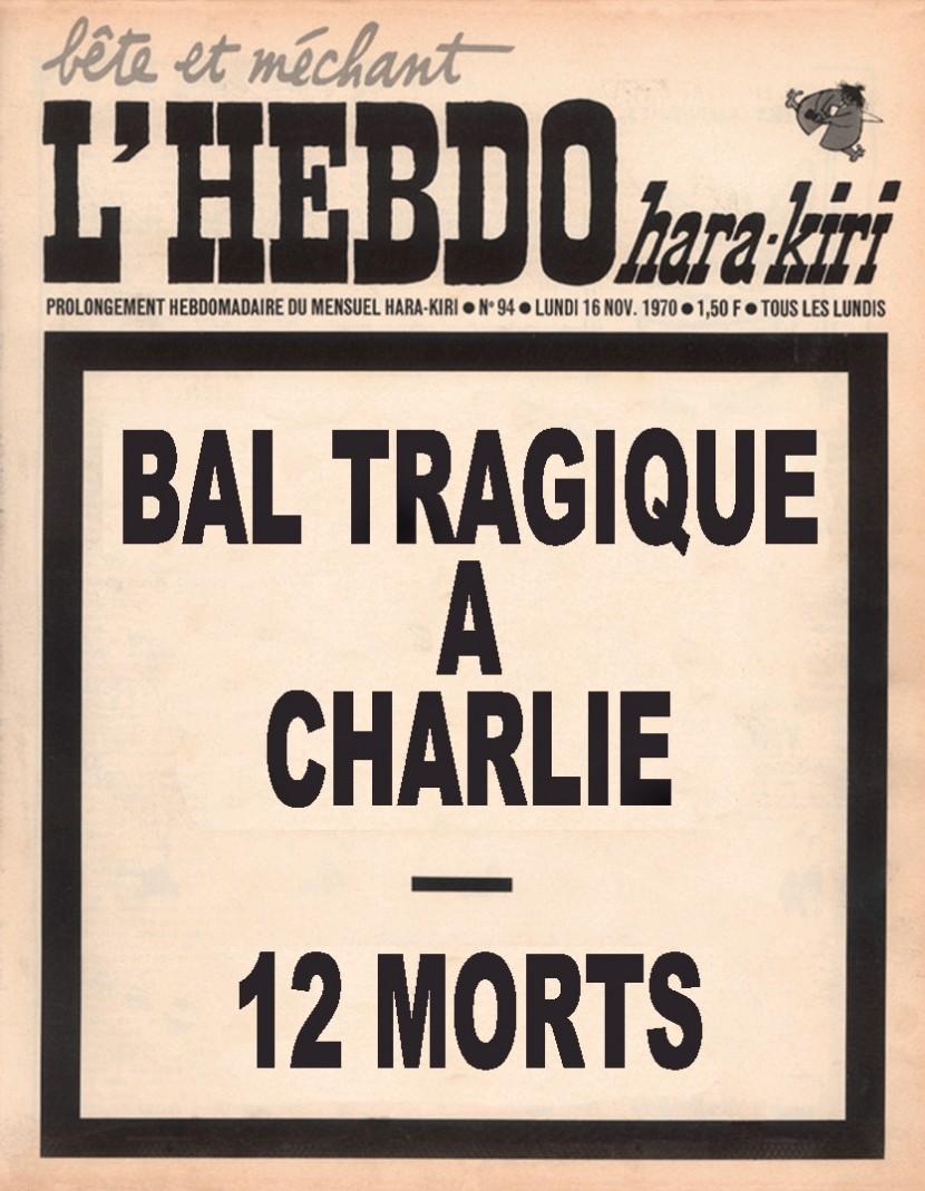 Douze membres de Charlie-Hebdo éliminés lors d'un raid islamiste au siège du journal