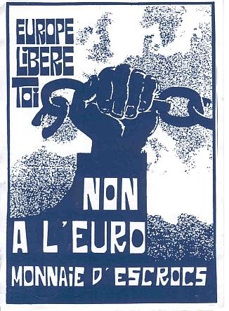 Leur « euro » très fortement déprécié par rapport au… franc suisse