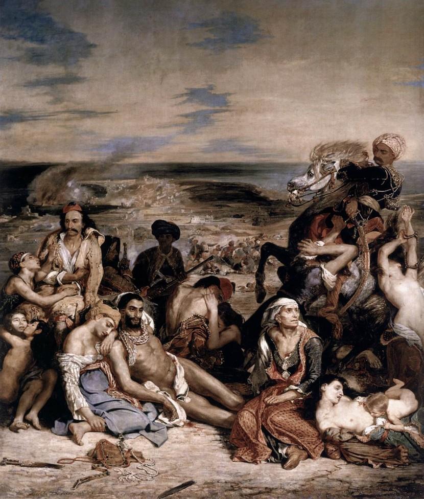 11 avril 1822: les Ottomans massacrent, violent et réduisent les Blancs en esclavage à Chios