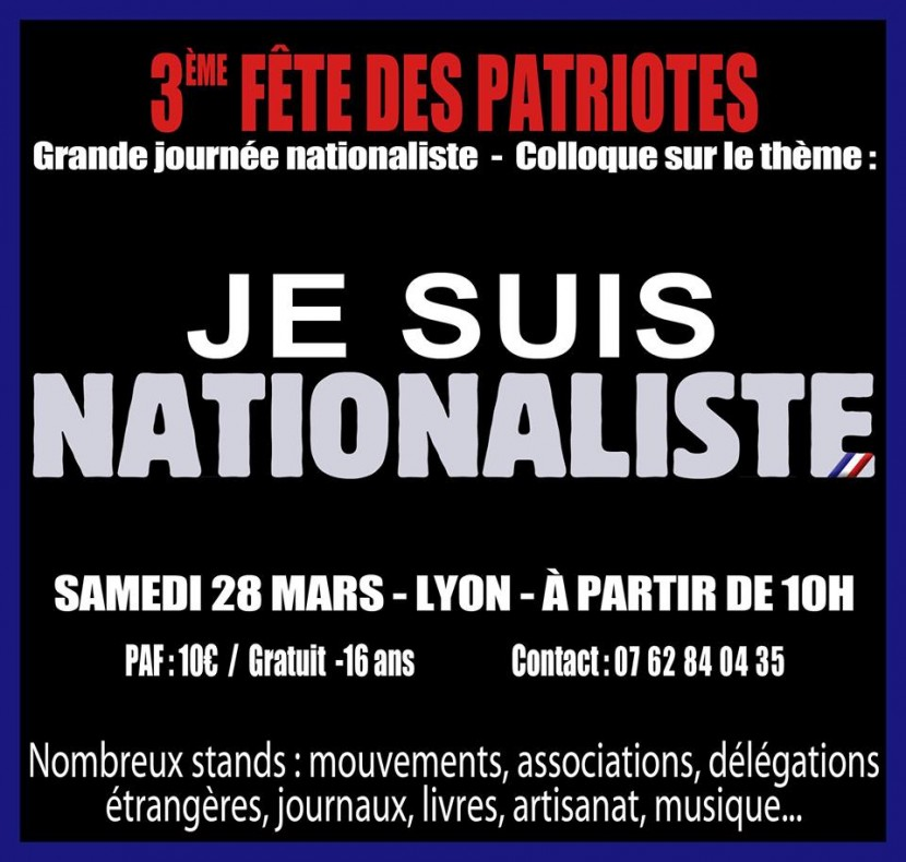 3e Fête des Patriotes à Lyon