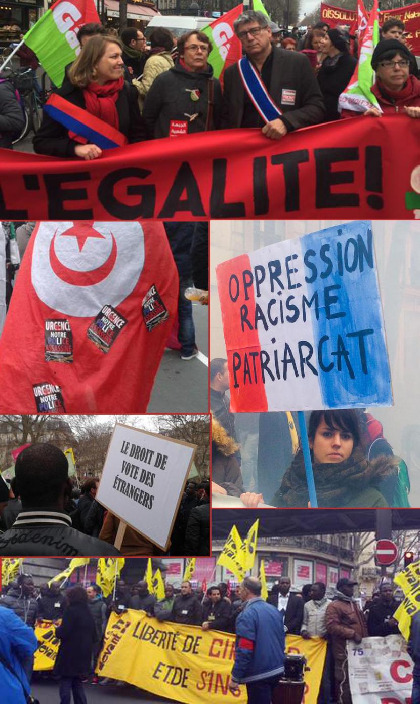Nouvel échec d'une manifestation raciste antiblanche de l'extrême gauche