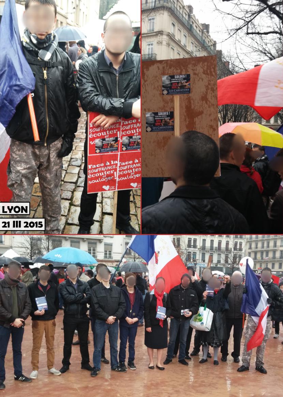 Nationalistes à la Marche pour la Vie de Lyon