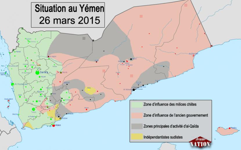 L'Arabie séoudite attaque le Yémen au risque de faire basculer la région dans la guerre