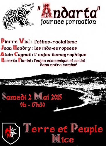 Nice : Journée de formation «Andarta»