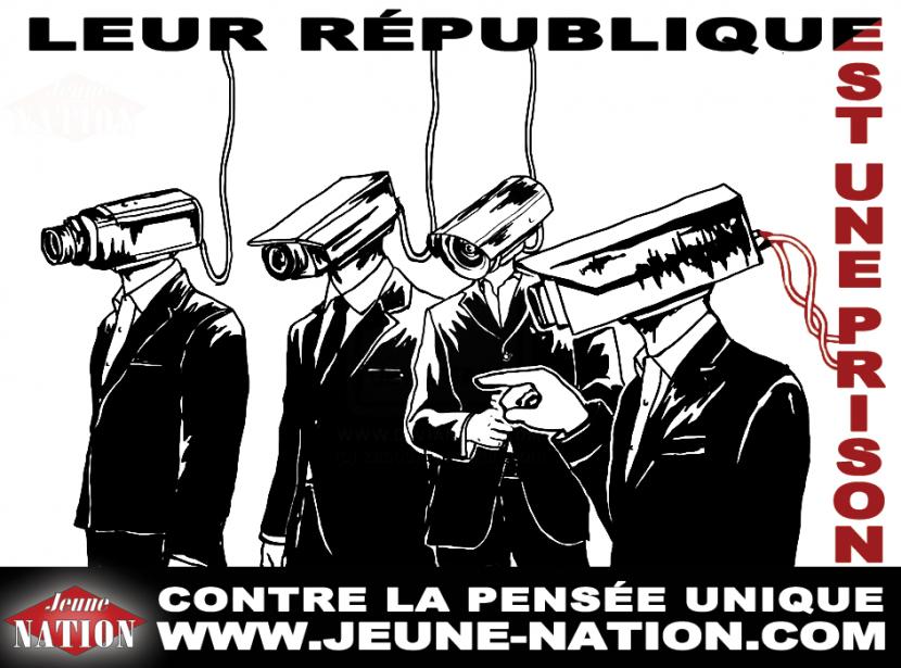 Surveillance généralisée: l'UMPS unie pour la dictature