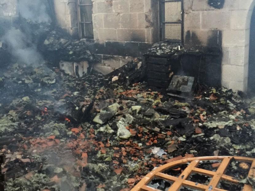 Nouvel incendie d'une église par des Juifs en Palestine, les colons ont visé un haut lieu de la vie de Jésus Christ